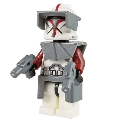 Minifig Special Ops Space Trooper Captain - Minifigs