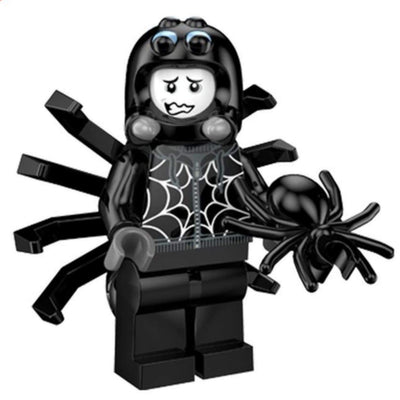 Minifig Spider Costume Guy - Minifigs