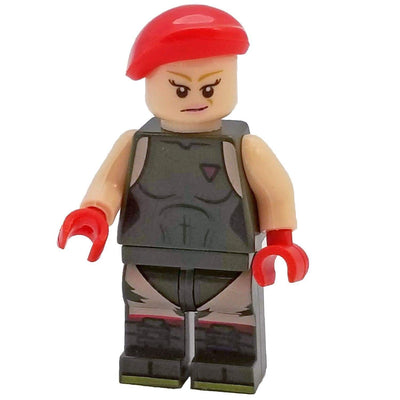 Minifig Street Fighter Cammy - Minifigs