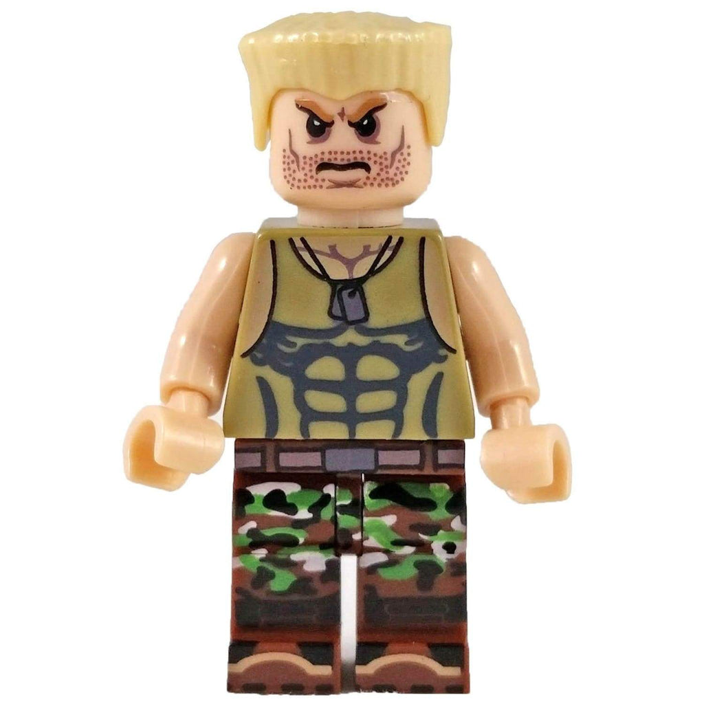 Minifig Street Fighter Guile - Minifigs
