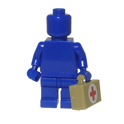 Minifig Tan Medic Bag (satchel) - Accessories