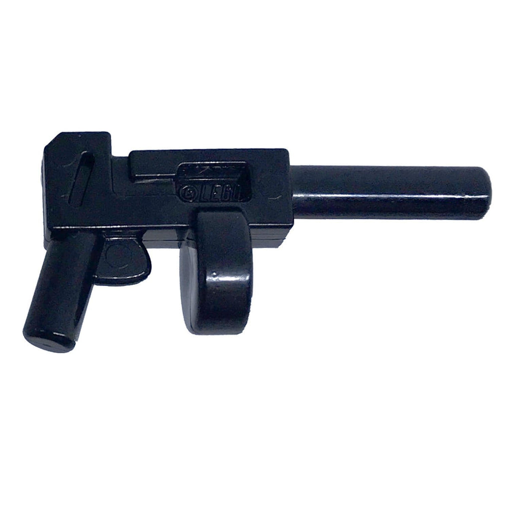 Minifig Thompson Sub Machine Gun with Drum - Machine Gun