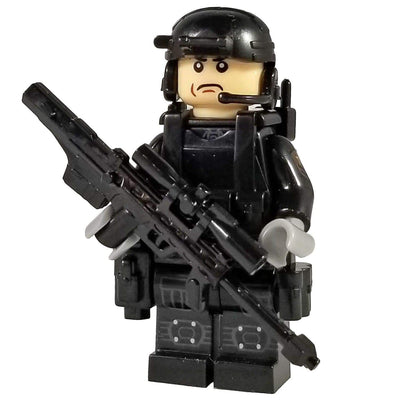 Minifig Tier One Hostage Rescue Team Gunther - Minifigs