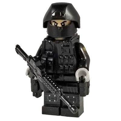 Minifig Tier One Hostage Rescue Team Omar - Minifigs