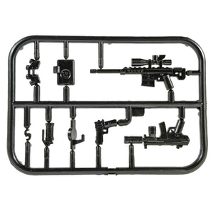 Minifig Tier One Night Vision Weapons Pack 2 - Weapon Set