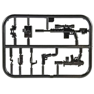 Minifig Tier One Night Vision Weapons Pack 4 - Weapon Set