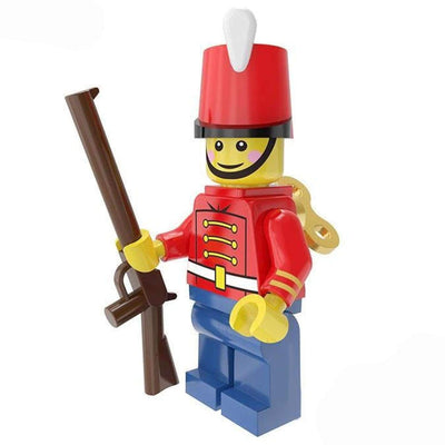 Minifig Toy Soldier - Minifigs