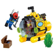 Minifig Treasure Hunt Tiny Submarine (122 Pieces) - Sets