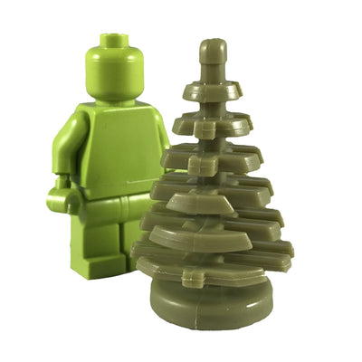 Minifig Tree Light Green (1 Piece) - Vegetation