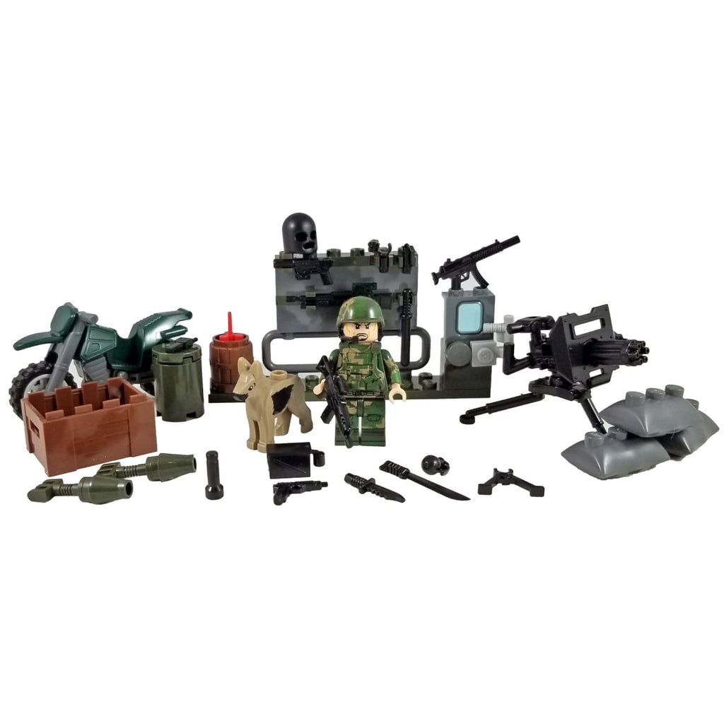 Minifig U.S. Marines Armory Set 3 of 4 (80 Pieces) - Sets