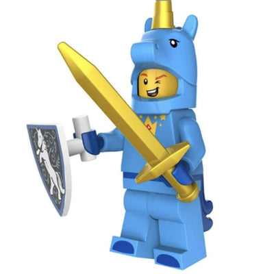 Minifig Unicorn Guy - Minifigs