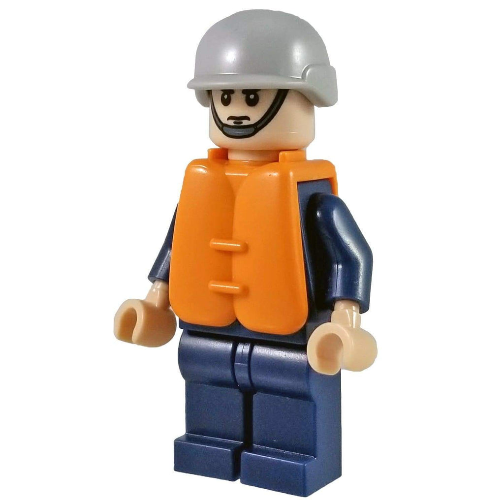 Minifig U.S. Coast Guard Sailor - Minifigs