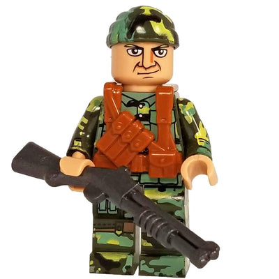 Minifig Vietnam Long Range Recon Patrol (LRRP) Soldier-Brick Forces
