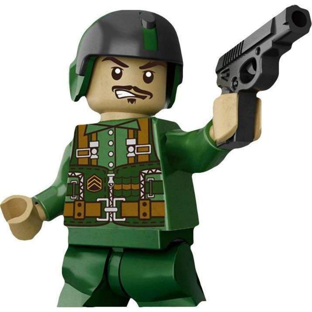 Minifig Vietnam U.S. Army Helicopter Crew - Minifigs