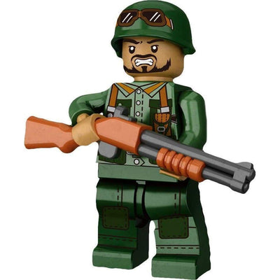 Minifig Vietnam U.S. Army Infantry-Brick Forces