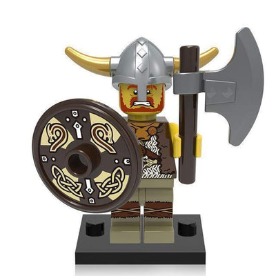 Minifig Viking Warrior - Minifigs