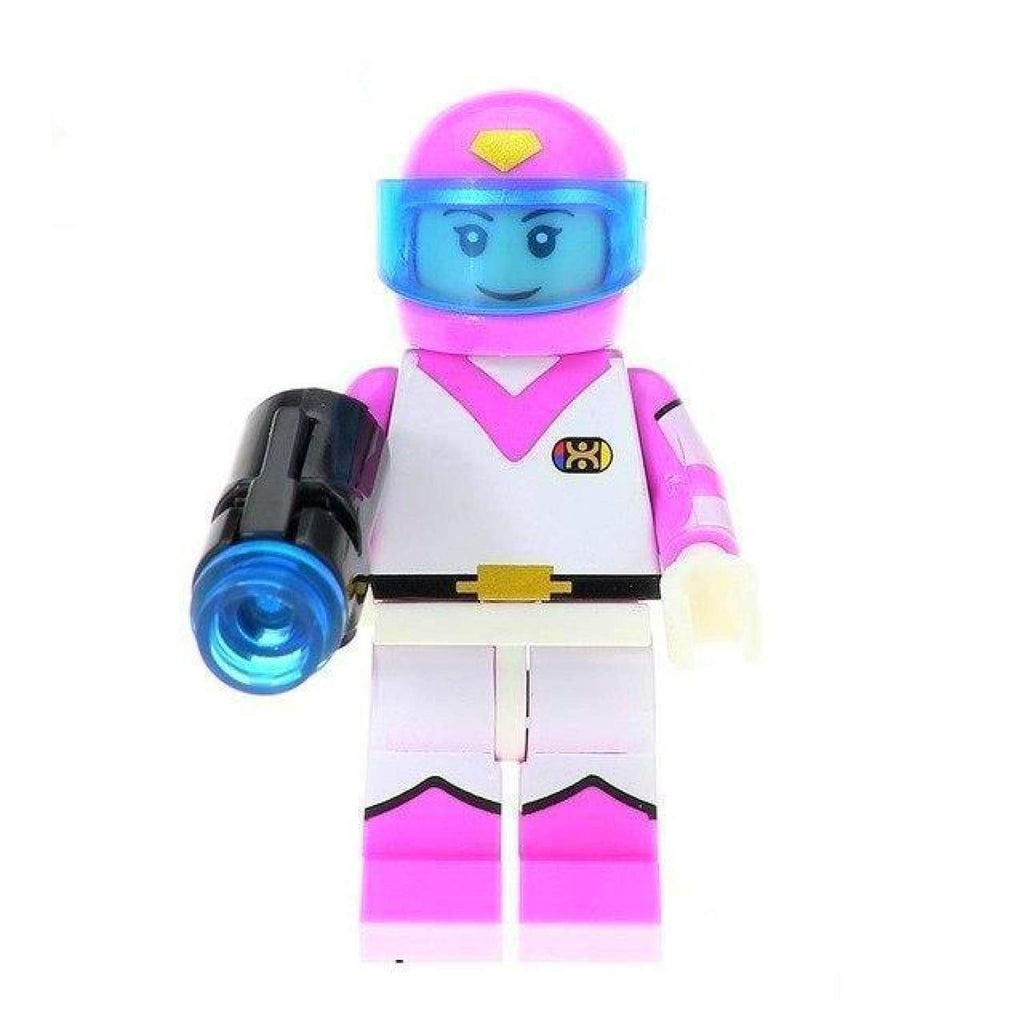 Minifig Voltron Force Pink Pilot - Minifigs