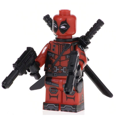 Minifig Weapon XI Red Uniform - Minifigs