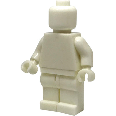 Minifig WHITE-Brick Forces