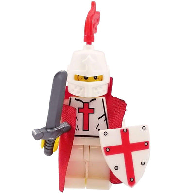 Minifig White Knights Templar-Brick Forces