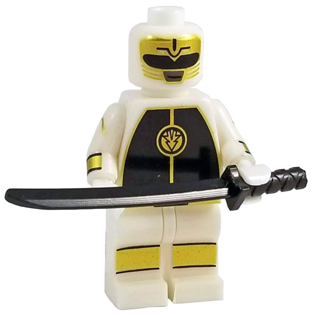 Minifig White Power Ranger - Minifigs