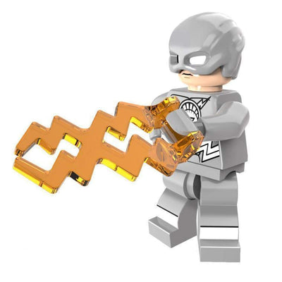 Minifig White Ring Lightning - Minifigs