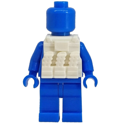 Minifig White Tactical Vest 2 - Vests