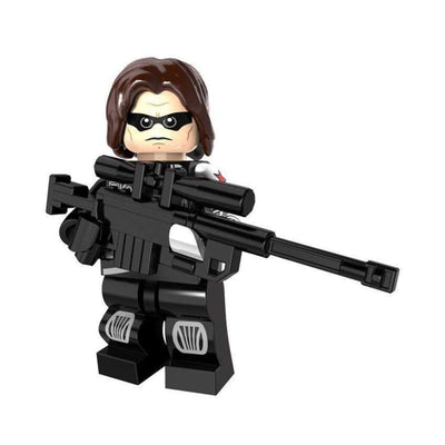 Minifig Winter Soldier - Minifigs