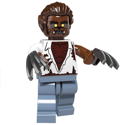Minifig Wolf Man-Brick Forces