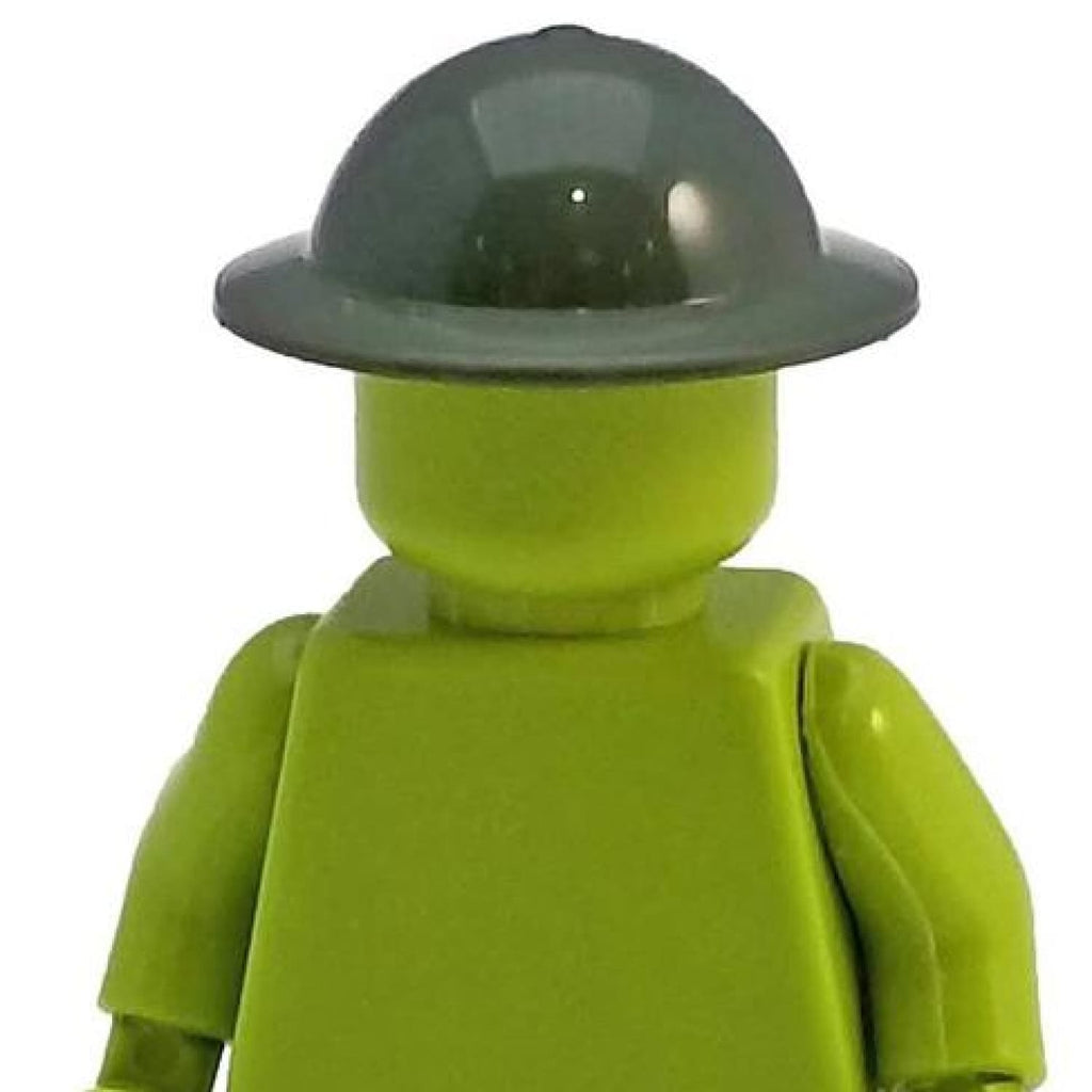 Minifig World War British MK II Helmet Green - Headgear