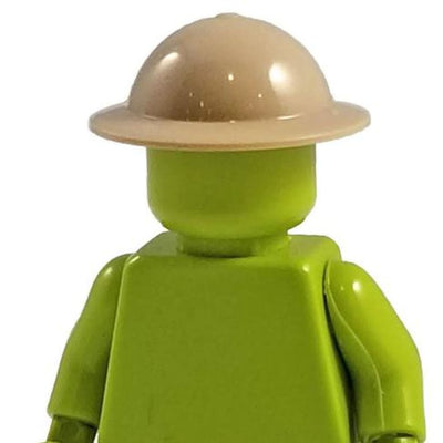 Minifig World War British Mk II Helmet Tan - Headgear