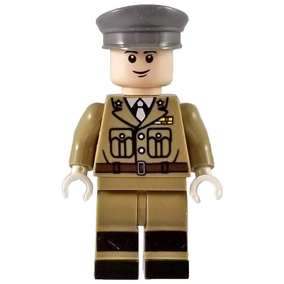 Minifig World War I American Officer-Brick Forces