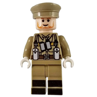 Minifig World War I British Officer - Minifigs