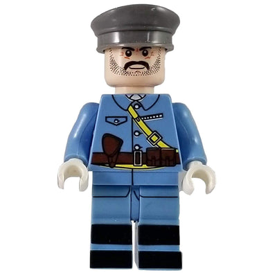Minifig World War I French Officer-Brick Forces
