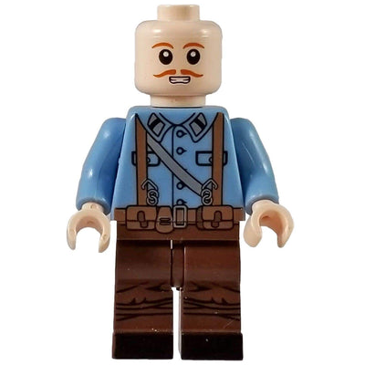 Minifig World War I French Soldier-Brick Forces