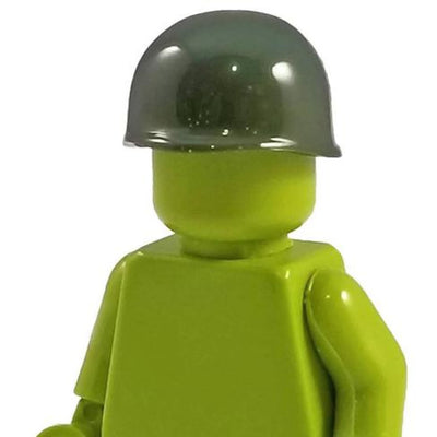 Minifig World War II American M1 Helmet Green - Headgear