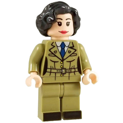 Minifig World War II American Officer Peggy - Minifigs