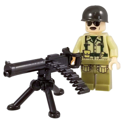 Minifig World War II American Raven Squad Crowley - Minifigs
