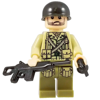 Minifig World War II American Raven Squad Mitch-Brick Forces