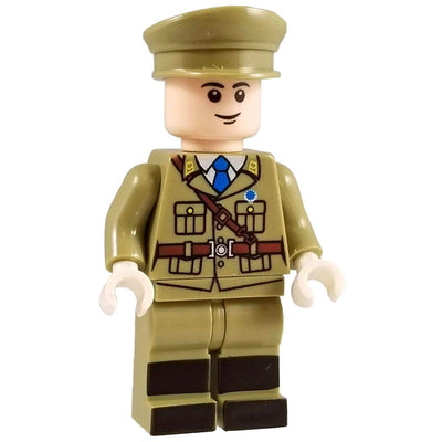 Minifig World War II Chinese Officer-Brick Forces