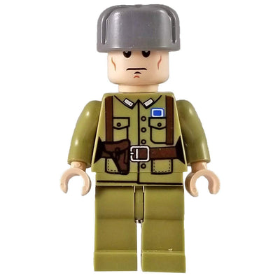 Minifig World War II Chinese Soldier - Minifigs