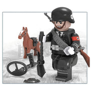 Minifig World War II German Allgemeine SS Günter - Minifigs