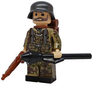 Minifig World War II German Flecktarn CAMO Bertel - Minifigs