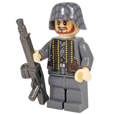 Minifig World War II German Heavy Gunner Richter - Minifigs