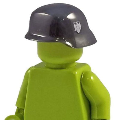 Minifig World War II German Helmet Grey - Headgear