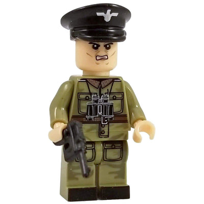 Minifig World War II German Officer Hirzebruch - Minifigs
