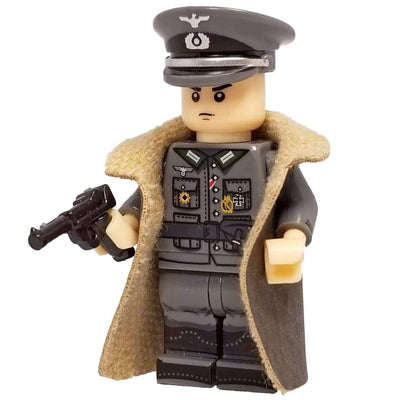 Minifig World War II German Officer Schmalz - Minifigs