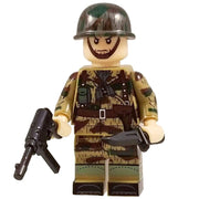 Minifig World War II German Splinter CAMO Paratrooper Herbert - Minifigs