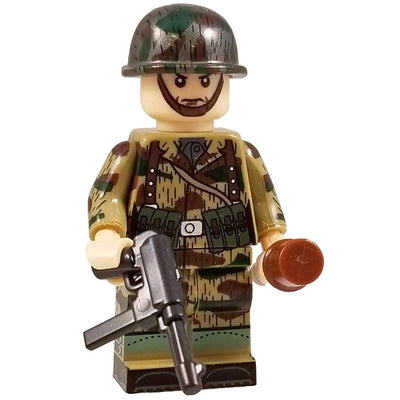 Minifig World War II German Splinter CAMO Paratrooper Manfred - Minifigs