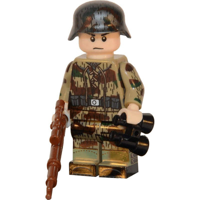 Minifig World War II German Splinter CAMO Sniper Klaus - Minifigs